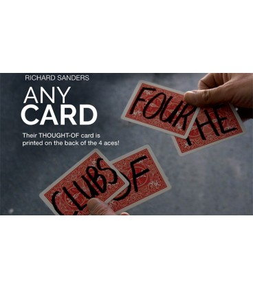 Any Card ( Gimmick and On Line Instruction)