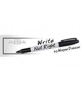 Write, Not Right Sharpie