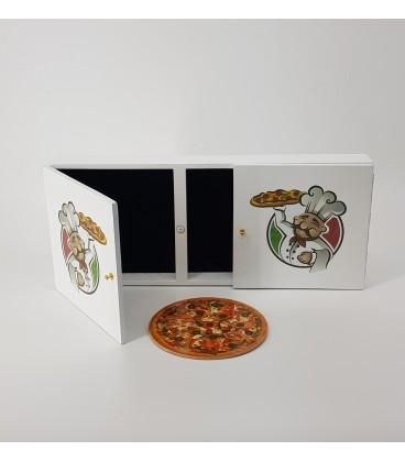 Magic Pizza Box ( Locking System)