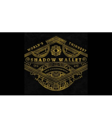 Shadow Wallet Black Leather