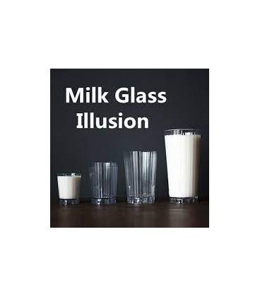 Milk Glass Illusion