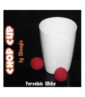 Chop Cup Porcelain  White