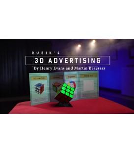 Rubik's Cube 3D Advertising