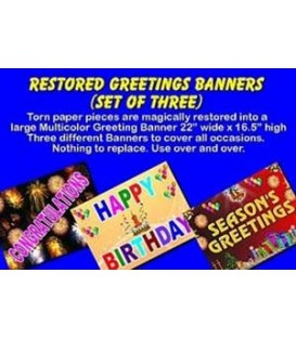 Restored Greeting Banner - Set 3