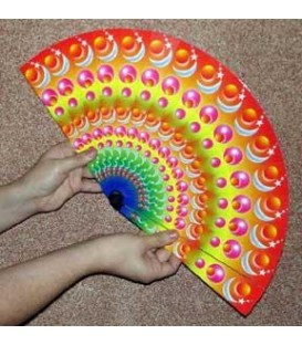 Color Changing Fan Peacock