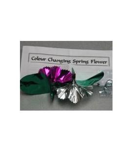 Color Changing Spring Flower