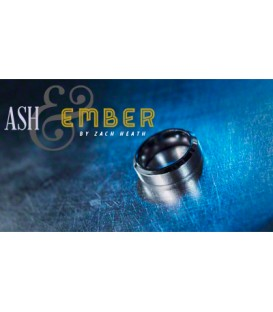 Ash And  Ember Silver Beveled Size 10