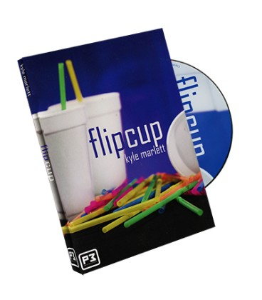 Flip Cup ( DVD and Gimmick)