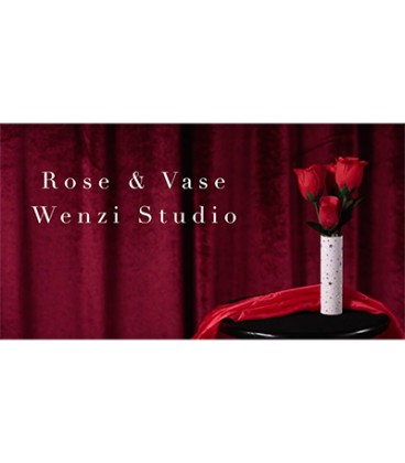 Rose & Vase