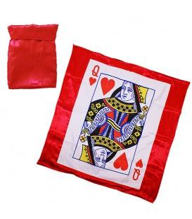 Bag To Card Silk Blendo ( Black / Queen of heart)