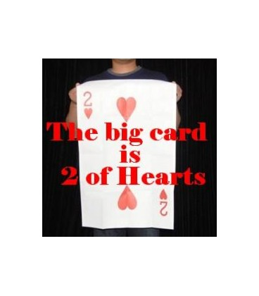 The Big Card is ' 2 of hearts '