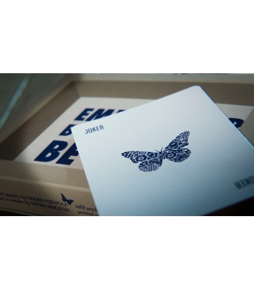 Butterfly Cards Blue ( Refill)